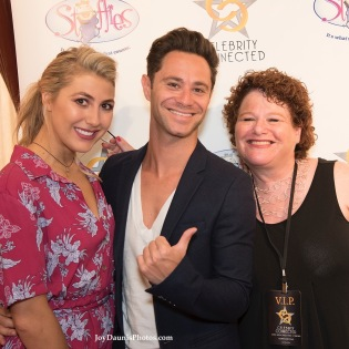 Emma Slater, Sasha Farber and Louise Sattler at the Celebrity Connected ESPY awards gift suite